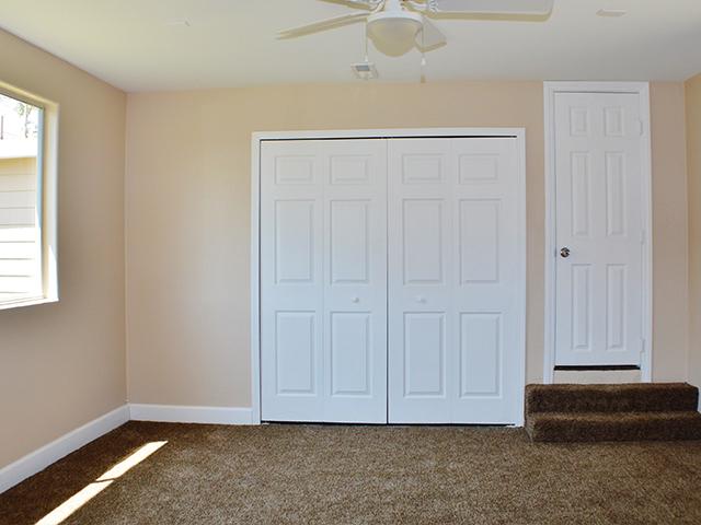 tan walls interior