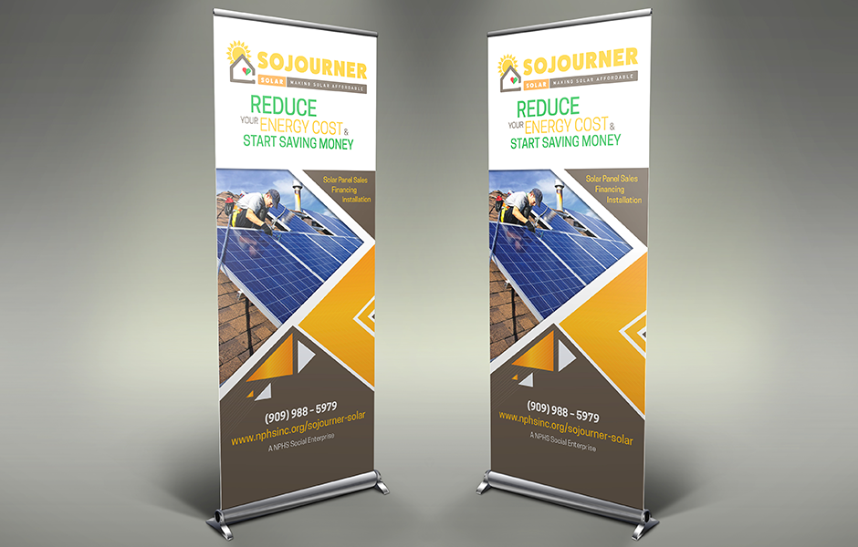 Sojourner-Pull Up Banner