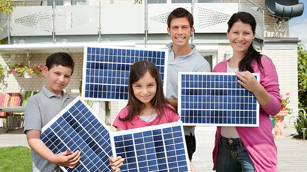 Why Go Solar family