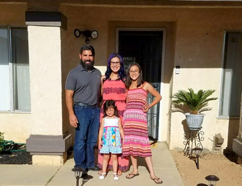 NPHS Helps Veteran Family Buy Their First Home
