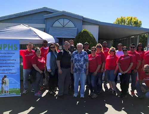 NPHS Partners with Wells Fargo for NeighborWorks Week