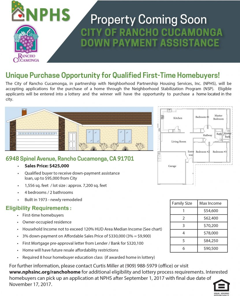 Rancho Home Lottery w Rendering