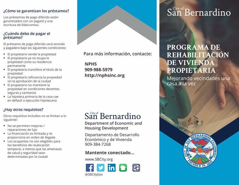PROGRAMA DE REHABILITACIÓN DE VIVIENDA PROPIETARIA