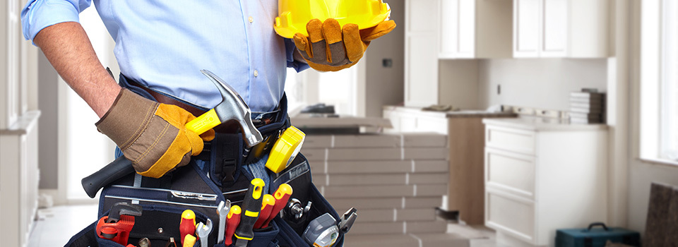 handyman contractor stock photo