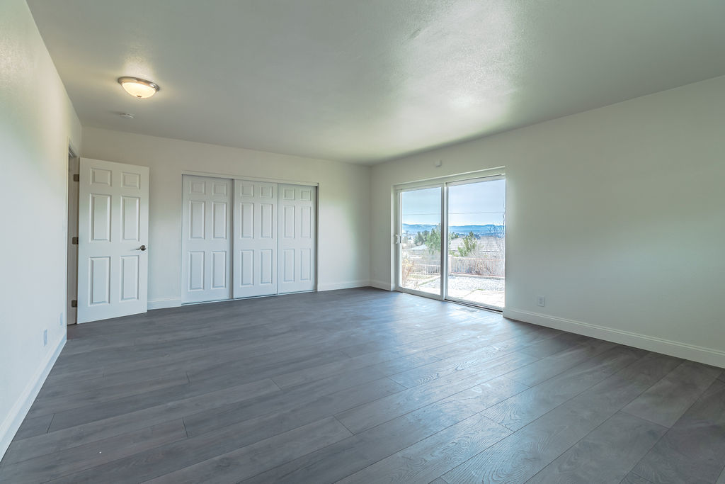 Apple Valley property photo of empty bedroom photo space