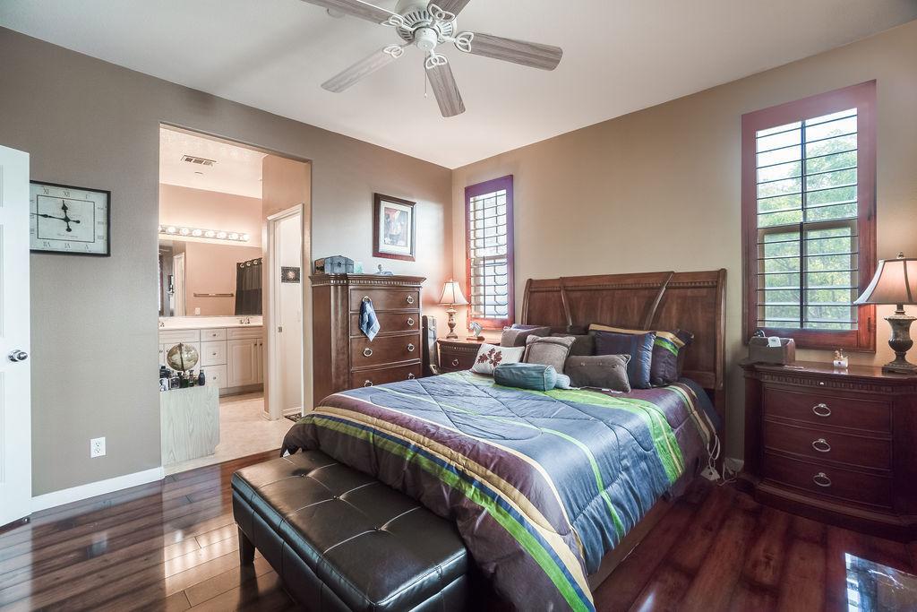 Camposa interior photo of master bedroom