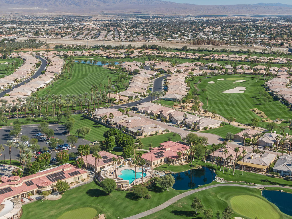 Birdseye view of Troon property and amenities